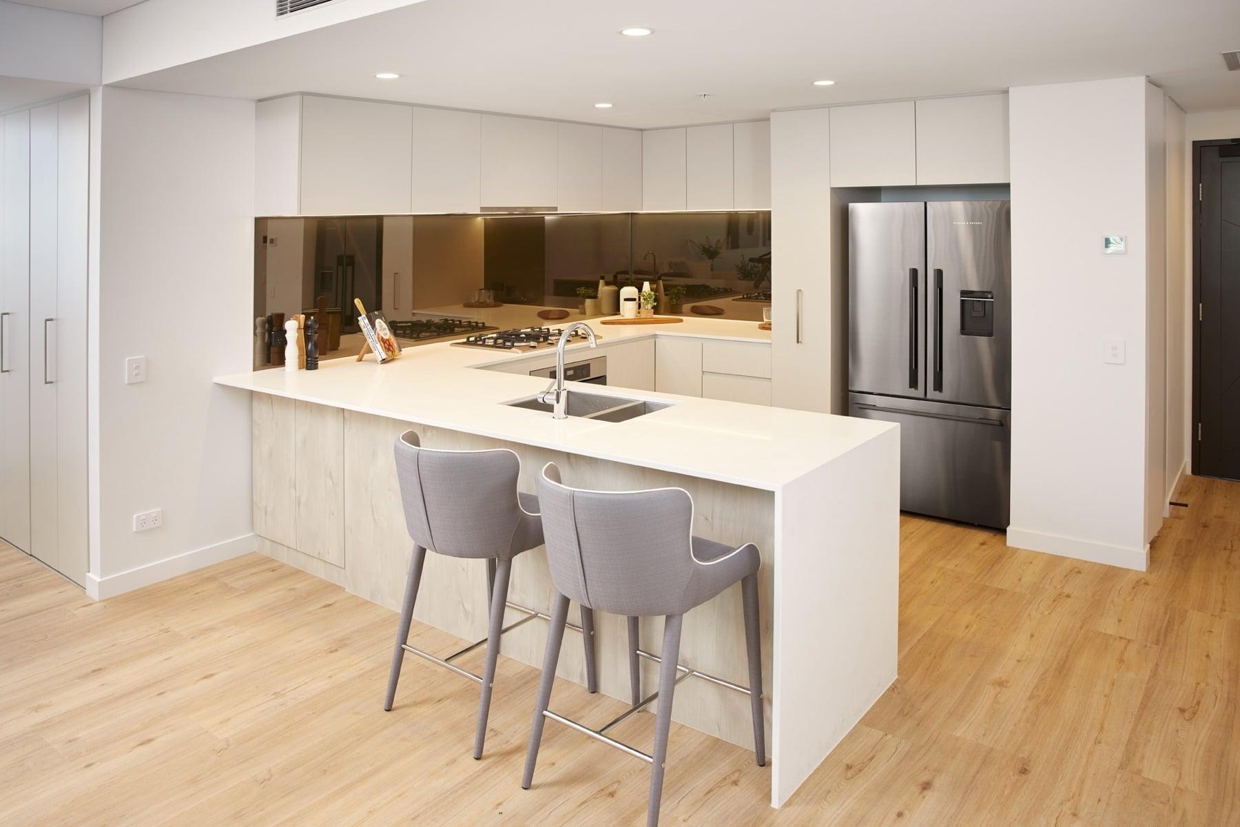 2 Bedroom - Kitchen